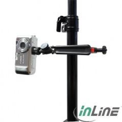 Vendita Inline Mini-Treppiedi Con Morsetto Per Fotocamere Digitali 19 Cm. Nero prezzi Cavalletti su Hardware Planet Computer ...