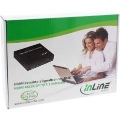 Inline Cavo Patch Per Rete Dati Lan Cat 6. 2X Rj45 Doppia Schermatura Sftp (Pimf) Verde 0.5M