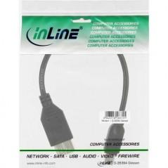 Inline Cavo Patch Per Rete Dati Lan Cat 6. 2X Rj45 Doppia Schermatura Sftp (Pimf) Blu 5M