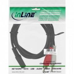 Inline Cavo Alimentazione Elettrica Spina Cee 77 (Schuko ) A 90 A Presa Vde C13. Nero 1.8M