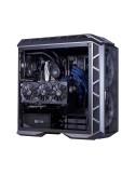 InLine Cavo SATA 7pin L-Form a SATA 7pin L-Form Max 6Gb-s connettore a basso profilo e con chiusura a scatto blu 1m