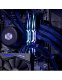 InLine Cavo SATA 7pin L-Form a SATA 7pin L-Form Max 6Gb-s rotondo chiusura a scatto connettore 90 gradi blu 0.3m