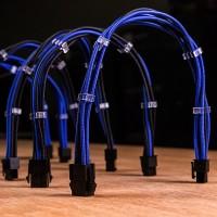 Vendita InLine Cavo SATA 7pin L-Form a SATA 7pin L-Form Max 6Gb-s rotondo chiusura a scatto connettore 90 gradi blu 0,15m  al...