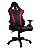 Mars Gaming Chair Sedia Gaming MGC1BR colorazione Deep Black Devil Red