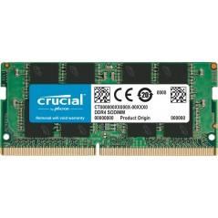 Vendita Crucial So-Dimm 8GB Ddr4 3200 CT8G4SFRA32A 1x8GB prezzi Memoria Ram So-Dimm Ddr4 su Hardware Planet Computer Shop Online