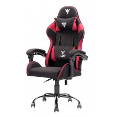 Vendita itek Gaming Chair RHOMBUS FF10 Nero Rosso prezzi Sedie Gaming su Hardware Planet Computer Shop Online