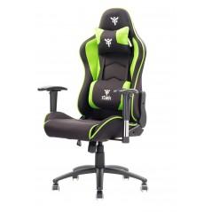 Vendita itek Gaming Chair PLAYCOM FM20 Nero Verde prezzi Sedie Gaming su Hardware Planet Computer Shop Online