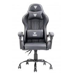 Vendita itek Gaming Chair RHOMBUS PF10 Nero Nero prezzi Sedie Gaming su Hardware Planet Computer Shop Online