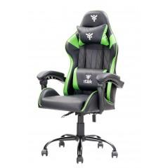 Vendita itek Gaming Chair RHOMBUS PF10 Nero Verde prezzi Sedie Gaming su Hardware Planet Computer Shop Online