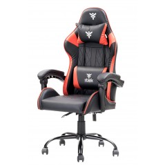 Vendita itek Gaming Chair RHOMBUS PF10 Nero Rosso prezzi Sedie Gaming su Hardware Planet Computer Shop Online