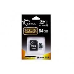 Vendita G.Skill FF-TSDXC64GA-U1 memoria flash 64 GB SDXC prezzi Flash Memory su Hardware Planet Computer Shop Online
