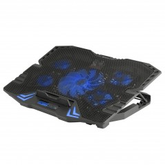 "Vendita NGS GCX-400 base di raffreddamento per notebook 43,2 cm (17\\"") 2500 Giri/min Nero prezzi Cooler Pad Per Notebook su ..."
