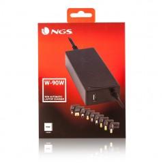 Vendita NGS W-90 adattatore e invertitore Interno 90 W Nero prezzi Alimentatori Per Notebook su Hardware Planet Computer Shop...