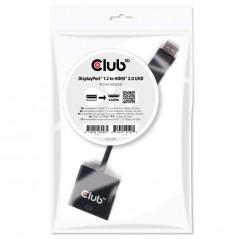 Vendita CLUB3D DisplayPort 1.2 a HDMI 2.0 UHD Adaptador Activo prezzi Cavi Video DisplayPort su Hardware Planet Computer Shop...