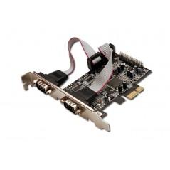 Vendita Digitus 2ser. / 1par. interface card, PCIe scheda di interfaccia e adattatore prezzi Controller Pci-E su Hardware Pla...