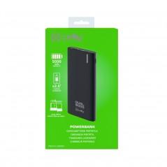 Vendita Celly PBDUAL5000BK batteria portatile Polimeri di litio (LiPo) 5000 mAh Nero prezzi Power Bank su Hardware Planet Com...