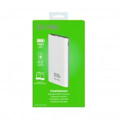 Vendita Celly PBDUAL5000WH batteria portatile Polimeri di litio (LiPo) 5000 mAh Bianco prezzi Power Bank su Hardware Planet C...