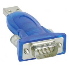 Vendita InLine 33304A adattatore per inversione del genere dei cavi USB A DB9 Blu prezzi Adattatori Da USB a Seriale - Parall...