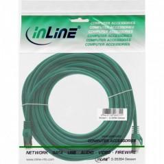 Vendita InLine 4043718071050 cavo di rete Verde 10 m Cat5e F/UTP (FTP) prezzi Cavi LAN Cat.5e F-UTP su Hardware Planet Comput...