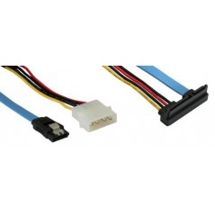 Vendita InLine 29696 cavo SATA 0,5 m Blu prezzi Cavi Sata Power su Hardware Planet Computer Shop Online