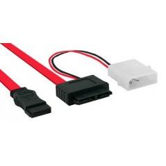 Vendita InLine SATA 0.4m/0.15m cavo SATA 0.4 m SATA 7-pin Rosso prezzi Cavi Sata Power su Hardware Planet Computer Shop Online