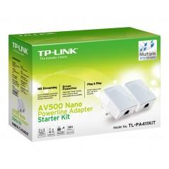Vendita TP-LINK PA411KIT 500 Mbit/s Collegamento ethernet LAN Bianco 2 pezzo(i) prezzi Powerline su Hardware Planet Computer ...